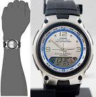 Casio AW-82-7AV Fishing Timer Watch Moon Data 10 Year Battery 3 Alarms Brand New