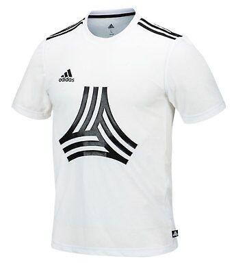 Clothing, Shoes & Accessories Adaptable Adidas Men Tango Logo Shirts S/s Training Jersey White Gym Tee Top Shirt Cw7400 Activewear Tops