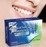 28 Teeth Whitening Strips PROFESSIONAL Non Peroxide with Free Shade Guide