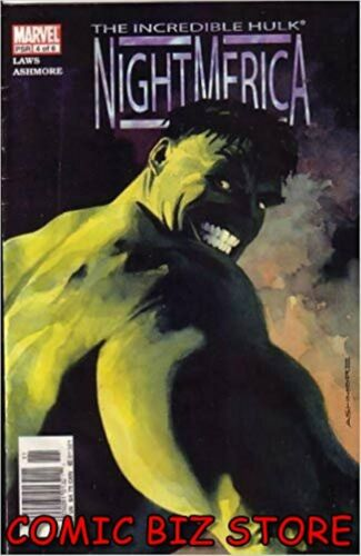 INCREDIBLE HULK NIGHT MERICA #4 1ST PRINTING BAGGED /& BOARDED MARVEL 2003