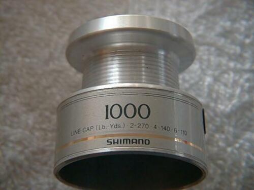 free shipping shimano spare spool 1000 1 metal 2 graphite $7.00 ea NOS 3ea