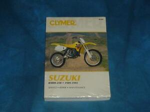 image is loading clymer-suzuki-rm80-125-service-repair-maintenance-manual-