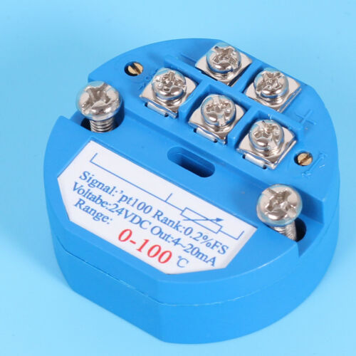 4-20MA RTD PT100 SBW Temperature Sensor Transmitter Isolated Sensors Full °C Lot