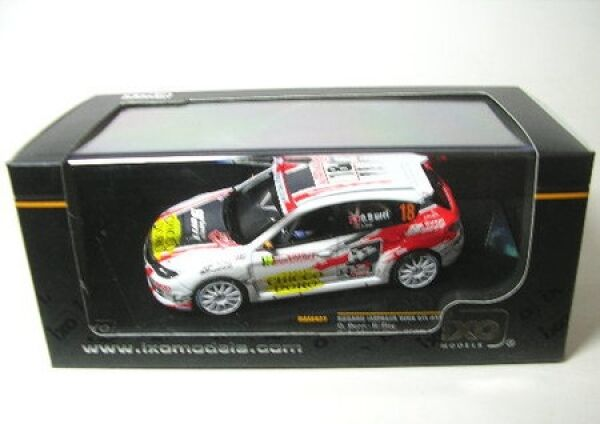 Subaru Impreza WRX STI No. 18 Rally Monte Carlo 2010  | Ausgezeichnete Leistung