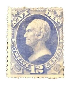 US-Official-Stamps-Collection-Scott-O41-12c-Unused-H-NG-CV-220-Low-Price