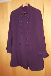 Cappotto scuro viola Cappotto formale formale scuro Cappotto viola formale q6SAz86X
