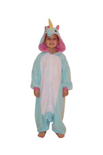 Kids /& Adults Costumes from USA SAZAC Blue Unicorn Kigurumi