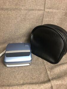 Vintage Polaroid One 600 Ultra Classic Instant Film Light Blue Camera