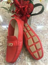 d669700bb67 item 4 New Cole Haan WMNS Shelby CH Logo II Firey Red Loafer Moccasins Shoes  Sz 6B  198 -New Cole Haan WMNS Shelby CH Logo II Firey Red Loafer Moccasins  ...