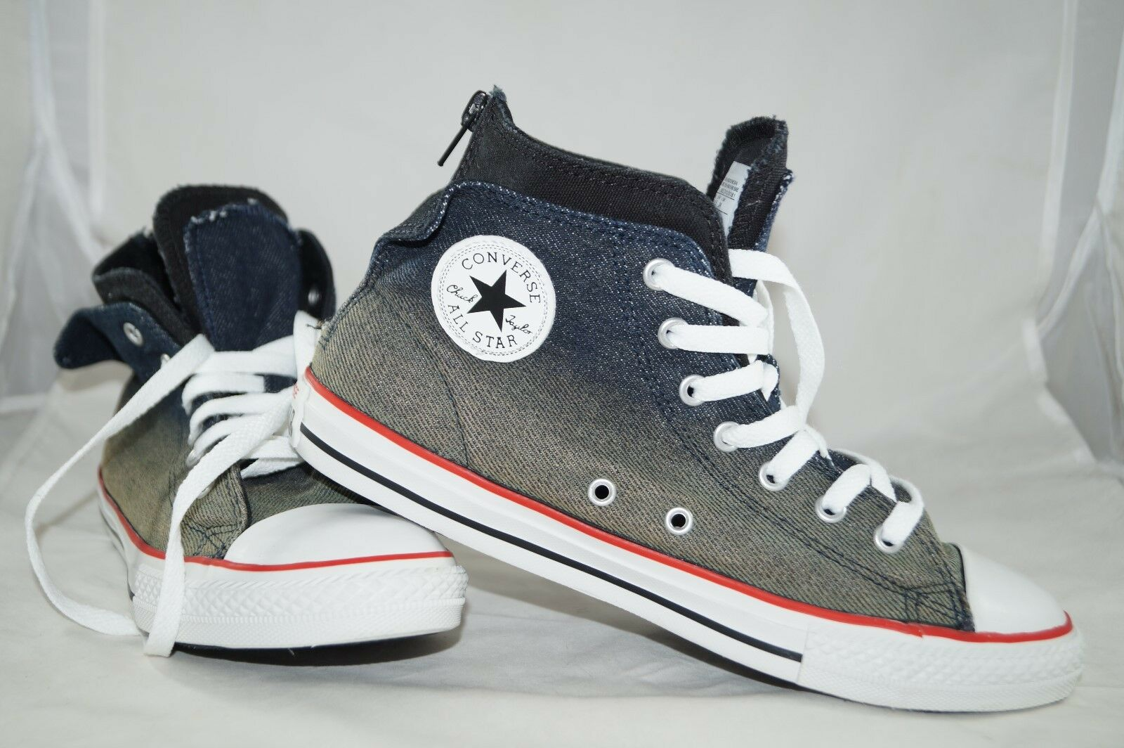 Converse Converse Converse Chuck Taylor All Star ZIP Back High Tops Gr  38,5 Sportschuhe 9b12ec