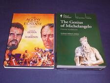 Teaching Co Great Courses  DVDs     THE GENIUS of MICHELANGELO      new + BONUS