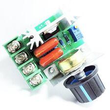 AC 220V 25A 2000W SCR Adjustable Voltage Regulator Dimmer Speed Controller