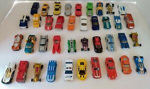 Hot-Wheels-Matchbox-Lote-De-40-Camiones-Coches-De-Plastico-Suelto-Diecast-amp
