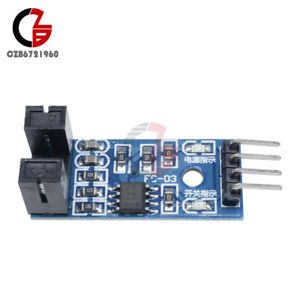 2pcs Slot-type Optocoupler Module Speed Measuring Sensor