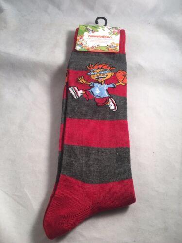 Nickelodeon Dress Crew Socks Men/'s Shoe Size 6-12 Gift Angry Beavers  S13