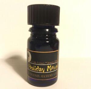 RARE-BPAL-Black-Phoenix-Alchemy-lab-Holiday-Moon-Aged-Perfume-2006-Blue-Bottle