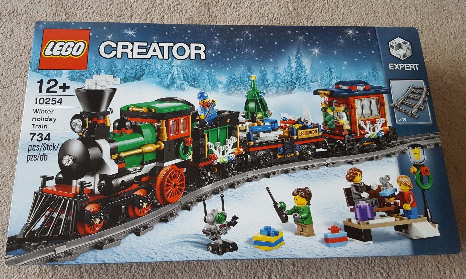 Lego 10254 Winter Holiday Train Christmas BNSIB