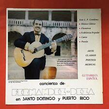 Fernandez Deza Concertista De Guitarra Santo Domingo Y Puerto Rico MAFERD NMINT