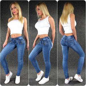 Zazou Low-Rise Women's Jeans Xs S M L XL Skinny Stretch Low Waist Hip Jeans 817C