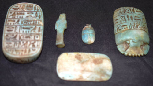 Egypt Египет Pharaoh Scarab Box Coffin With Mummy Sculpture,Scarab /& palette