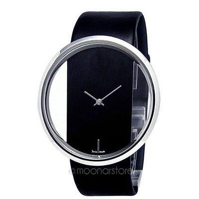 Women's Fashion PU Leather Watches Analog Alloy Wristwatch Quartz Wrist Watch HN