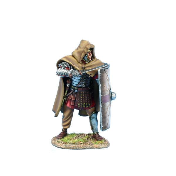 ROM221 Imperial Roman Legio XIIII GMV Legionary Ready w Gladius by First Legion