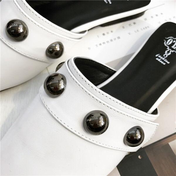 Ciabatte eleganti sabot    bianco  basse eleganti comodi simil pelle 9842 66cad4