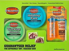 O'Keeffe's Skincare Working Hands Healthy Feet and Lip Repair Multipack Gift Set