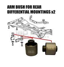 FOR MITSUBISHI OUTLANDER AIRTREK 2003> REAR DIFFERENTIAL DIFF ARM MOUNT BUSH SET
