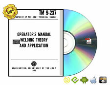 Collection Welding Theory Application Cutting Testing Print Reading Books On CD