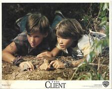 Brad Renfro and David Speck in The Client 1994 original movie photo 10480