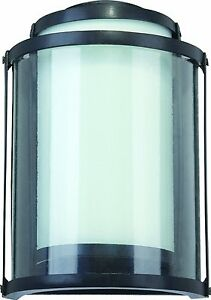 Details About Sylvania Led Outdoor Wall Fixture Matte Black Series 75271