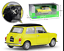 Welly-1-24-Mini-Cooper-1300-Yellow-Diecast-Model-Sports-Racing-Car-NEW-IN-BOX thumbnail 3