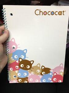 Vintage Sanrio Chococat Spiral Bound Wide Ruled Notebook