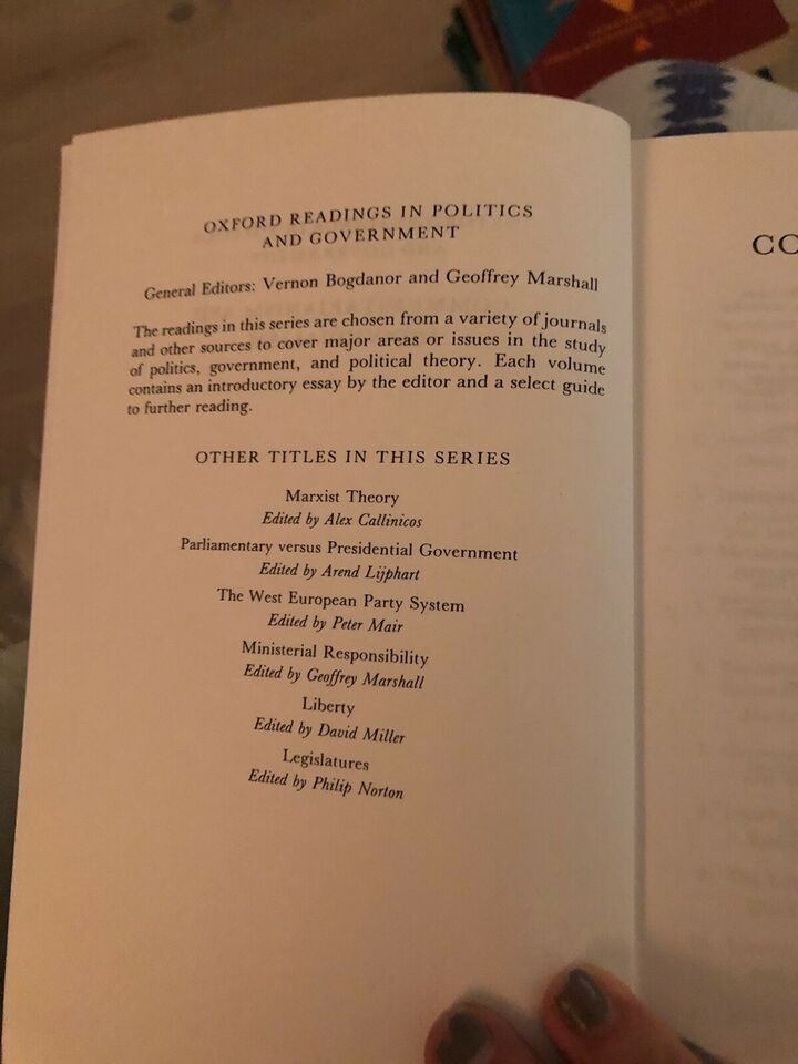 Communitarism and Individualism, Avineri & de-Shalit,