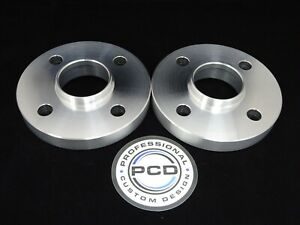 Fits-TOYOTA-AYGO-2005-Hubcentric-4X100-54-1-Wheel-Spacers-20mm-Wide-amp-NO-BOLTS