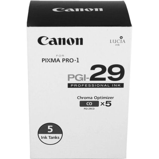 NEW! Canon PIXMA PRO-1 PGI-29 Chroma Optimizer Tank 5-Pack