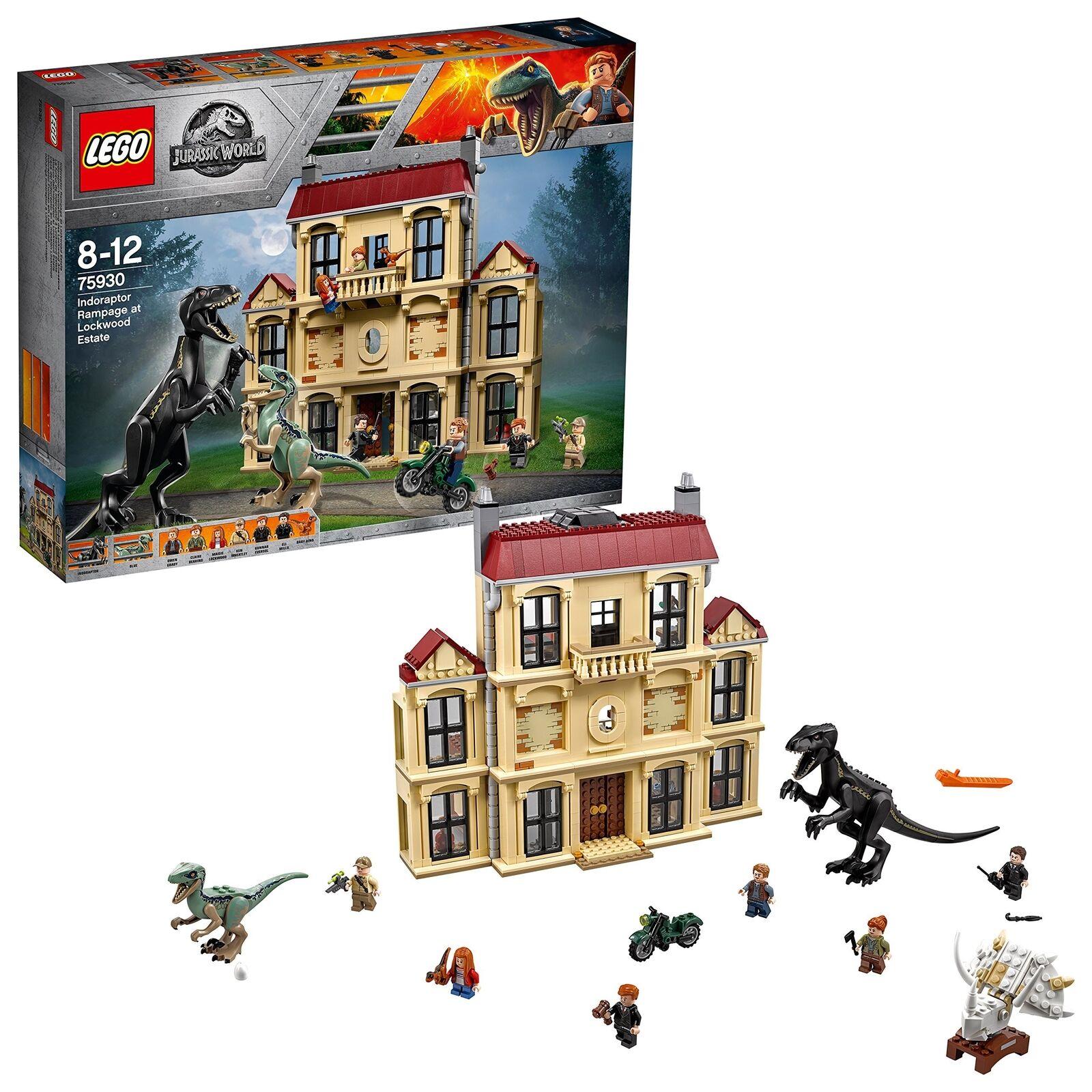 LEGO 75930 Jurassic World Indoraptor Indoraptor Indoraptor Rampage at Lockwood Estate Hybrid Speci... f5ee1f
