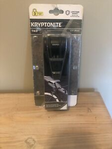 Kryptonite TKO Folding Lock 100 Bicycle Lock Includes 2 Keys New Bike Lock