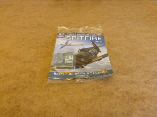 AIR POWER BUILD A MODEL OF THE SPITFIRE MK IA ISSUE 14 SPITFIRE MODEL PARTS