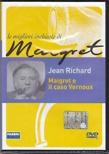Dvd-LE-MIGLIORI-INCHIESTE-DI-MAIGRET-MAIGRET-E-IL-CASO-VERNOUX-nuovo-1953
