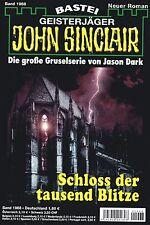 JOHN SINCLAIR ROMAN Nr. 1968 - Schloss der tausend Blitze - Jason Dark NEU