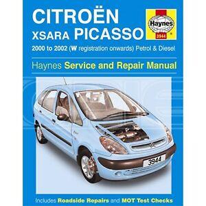 haynes citroen xsara picasso petrol diesel 00 02 w reg rh ebay co uk Xsara Tuning Citroen Xsara Picasso