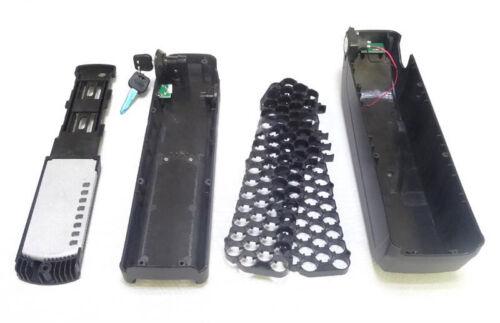 36V 48V Electric Bicycle Battery Box Case 5V USB HaiLong E-bike Holder For 18650 Radsport