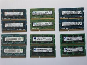 8GB 2x4GB PC3 -12800s / 1066 DDR3 204 PIN SODIMM RAM MEMORY