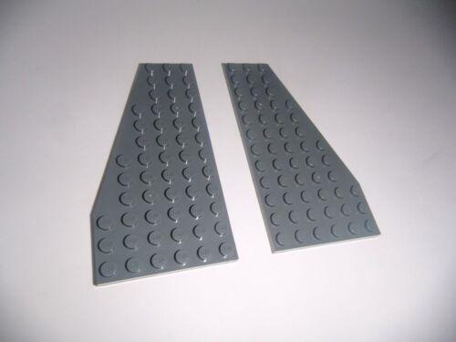 in dunkelgrau aus 9500 1x R.+ 1x L. Lego 30355//30356 2 Flügelplatten 12x6