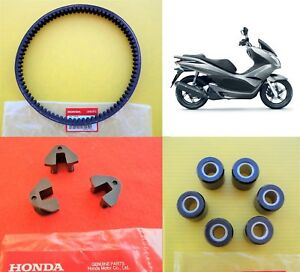 Honda-PCX-125-GENUINE-Belt-amp-Rollers-amp-Sliders-PCX125-2009-2014-UK-STOCK