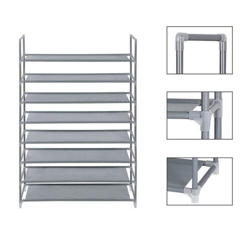 5//10 Tier Shoe Rack Wall Tower Cabinet Storage Organizer Home Holder Shelf