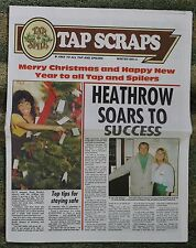 Tap and Spile Pub Chain - 'Tap Scraps' - Winter 1991/92 - free pp(UK)