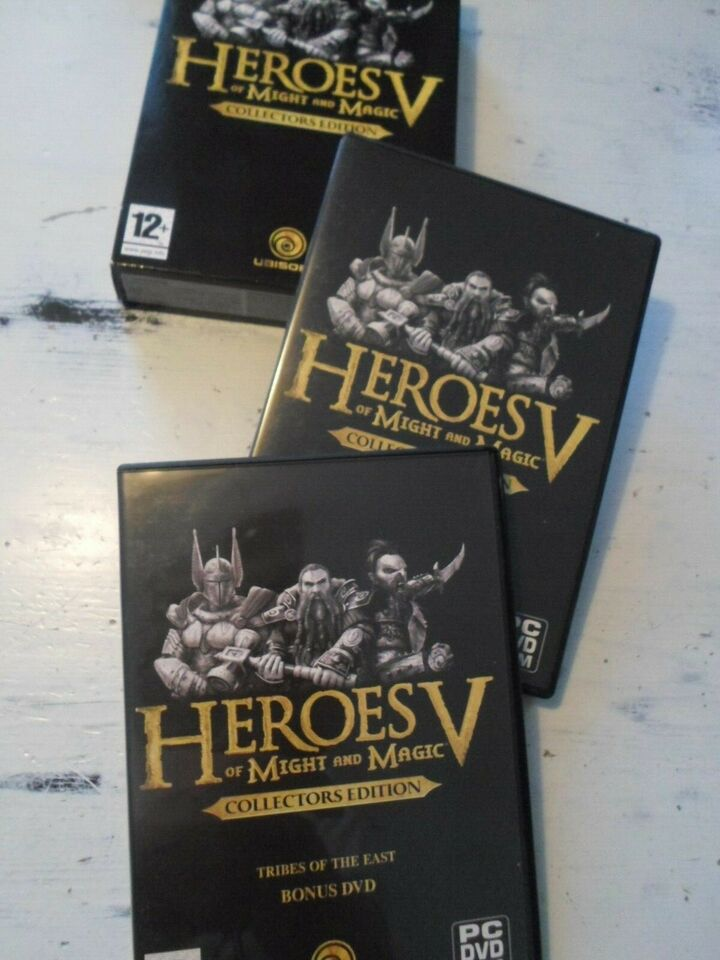 Heroes of Might & MAgic Collectors Edition, til pc, MMORPG
